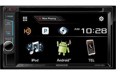 Kenwood DDX573BH 2 DIN DVD/CD Player Android iPhone HD Radio Bluetooth SiriusXM