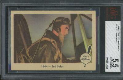1959 Fleer Ted Williams #22 Ted Williams EX+ BVG 5.5