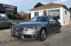 2010 Audi S4 Premium Plus QUATTRO NO ACCIDENT