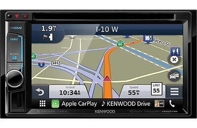 "Kenwood DNX573S DVD/CD Player 6.2"" Touchscreen LCD Navigation HD Radio Bluetooth"
