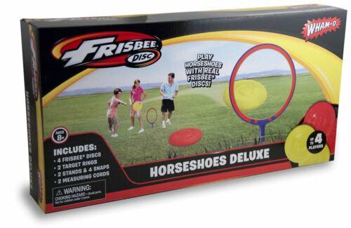 WHAM-O FRISBEE HORSESHOES DELUXE YARD GAME