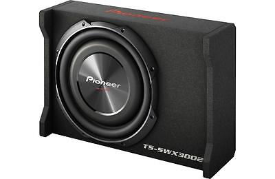 "New Pioneer TS-SWX3002 1500 Watts 12"" Loaded Shallow Truck Subwoofer Enclosure"