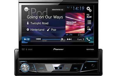 "Pioneer AVH-X7800BT RB DVD/CD/MP3 Player 7"" Flip Up LCD Bluetooth Siris Eyes"
