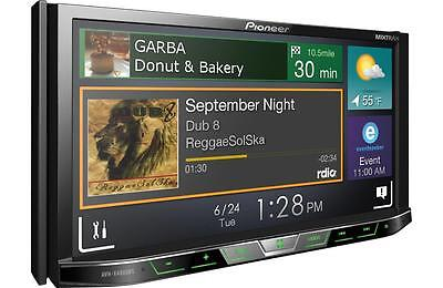 "NEW Pioneer AVH-X490BS Double 2 DIN DVD/CD Player 7"" Bluetooth Spotify Pandora"