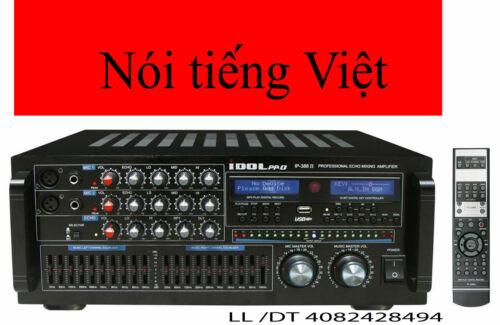 IDOLPRO IP-388 II 1400W Karaoke Amplifier WITH  Bluetooth, & Recorder & MORE