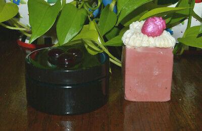 Magical Myst Goat Milk Soap & THICK Butter Lotion Cream Strawberry Ambrosia SET