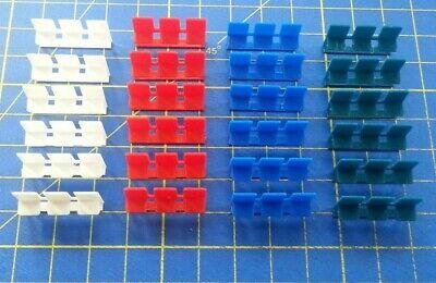 24 BANCS TRIPLE POUR QUAI DE GARE  - SCALE HO - 1/87° - 3D PRINTING PLA