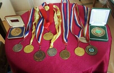 Various  Metal  Medals  Mainly Basket Ball & Football & Cricket (Mainly Baskets)