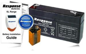 Response-Alarms-Genuine-HW10-6v-1-2Ah-SL1-SL2-SL3-SL5-SL6-Battery-KIT-Inc-9V-PP3