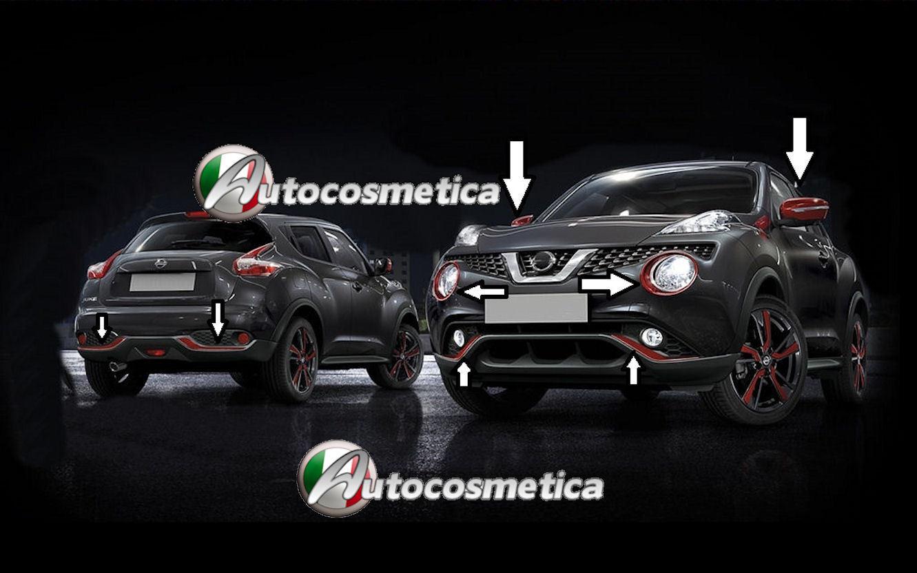 Exclusive Exterior Style Pack Effect BLACK PURPLE Genuine Nissan Juke 2014>-