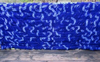 Royal Blue Comforter - King size comforter, royal  blue velvet polyester,