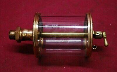 Lunkenheimer No 6 Brass Oiler 12 Npt Gas Engine Motor Op25.4