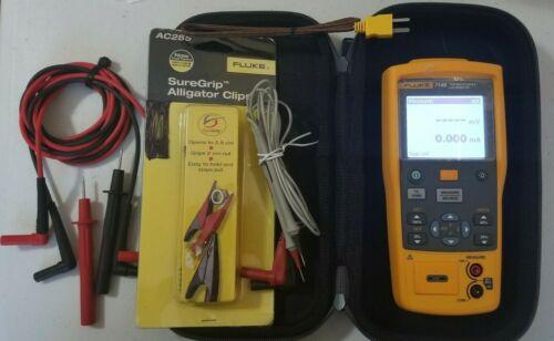 Lightly Used Fluke 714B Thermocouple Calibrator
