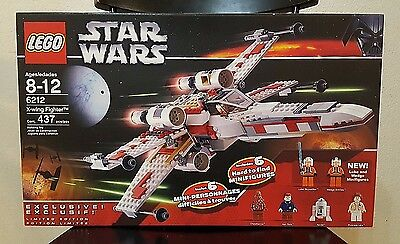 LEGO Star Wars 6212 - X-Wing Starfighter - Brand New, Retired. L@@K