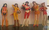Set 5 Figure Pilotesse Robot Heroines Goldrake Goldorak Grendizer Mazinga Bandai -  - ebay.it
