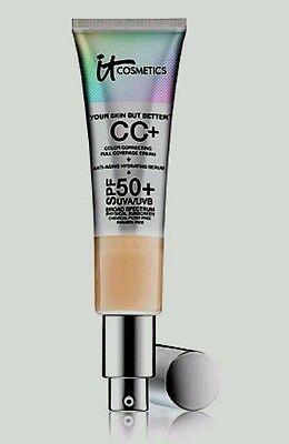 It Cosmetics Your Skin But Better Cc Cream  Spf 50 Full Coverage Tan 0 Ship