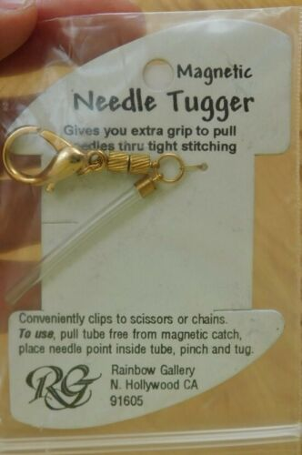 Magnetic NEEDLE HUGGER~Embroidery/Cross Stitch~Rainbow Gallery~NEW