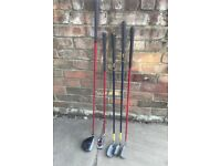 Junior Dunlop right handed golf clubs