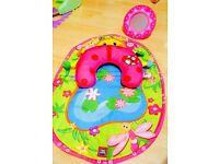 Baby play mat( used twice )