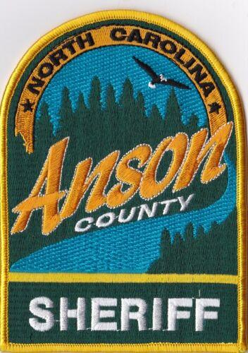 Anson County Sheriff North Carolina NC Police Patch