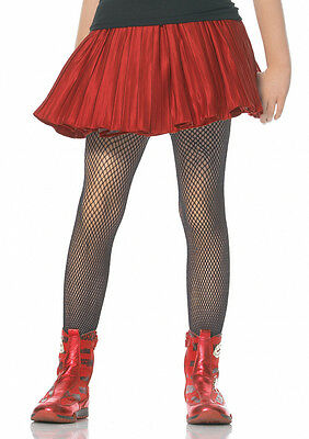 BRAND NEW Girls Fishnet Tights Stockings For Kids Childrens Halloween Costumes