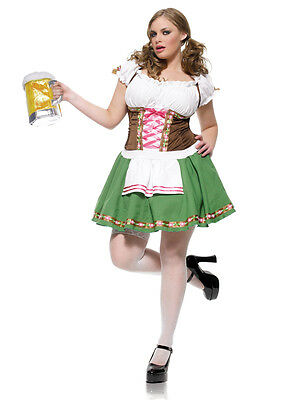 Beer Maid Gretchen Heidi Ho Dress Halloween Oktoberfest Costume Adult Women - Gretchen Costume Halloween
