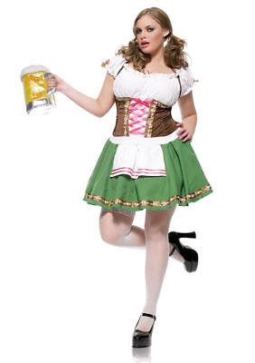 Leg Avenue Gretchen Beer Garden Maid Plus Size Costume  Leg Avenue Garden