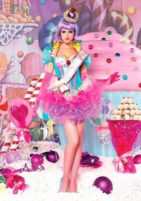 Cupcake Queen Costume (HTF LEG AVENUE CUPCAKE QUEEN COSTUME SMALL ~ DELUXE)