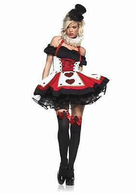 Sexy 2 pc. Women's  Pretty Playing Cards Adult Halloween Party Costume - Adult Halloween Cards