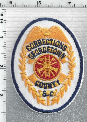 Georgetown County Corrections (South Carolina) 1st Issue Cap/Hat Patch