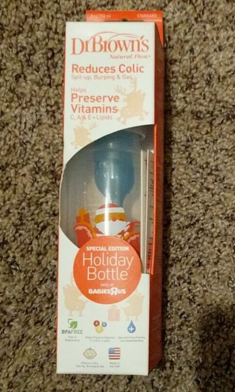 Dr Browns Natural Flow Holiday Bottle- Reindeer Special Edition- Stops Colic