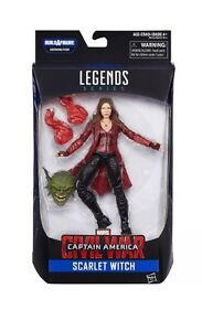 Marvel legends new scarlet witch movie