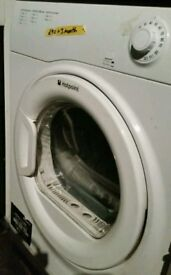 Hotpoint Vented Dryer and warranty