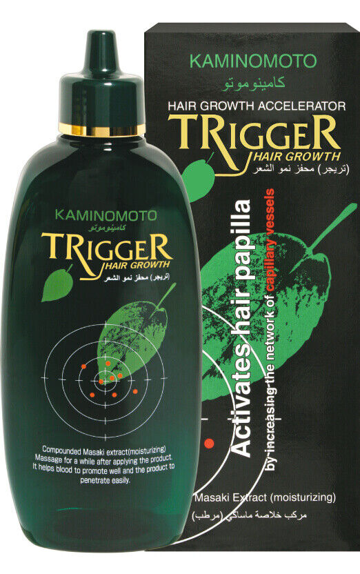 trigger medicated hair growth non fragrance lotion