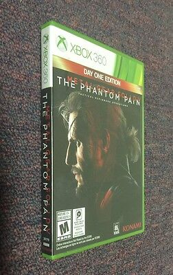 Metal Gear Solid V The Phantom Pain Day One Edition for Xbox 360