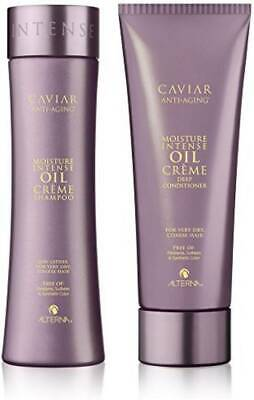 Alterna Caviar Moisture Intense Oil Creme Shampoo 250ml and Conditioner 207ml