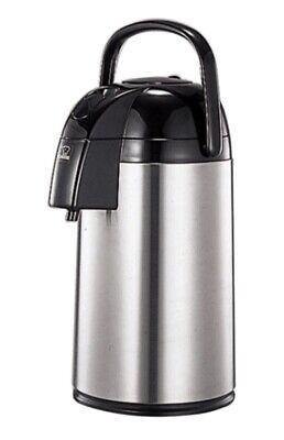 Zojirushi Air Pot Brushed Stainless Steel Beverage Dispenser Supreme Aawe 30