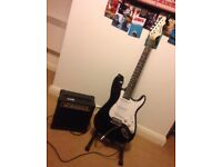 Electric Guitar and Amp - 20W