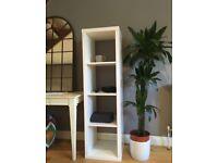 White bookshelf *Like New*