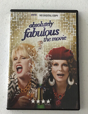Absolutely Fabulous: The Movie DVD 2016 FREE SHIPPING