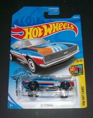 2017 Hot Wheels Art Cars Treasure Hunt 1967 Camaro  VHTF