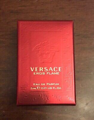 Versace Eros Flame, Eau De Parfum 5ml Miniature Collectors Bottle, BNIB