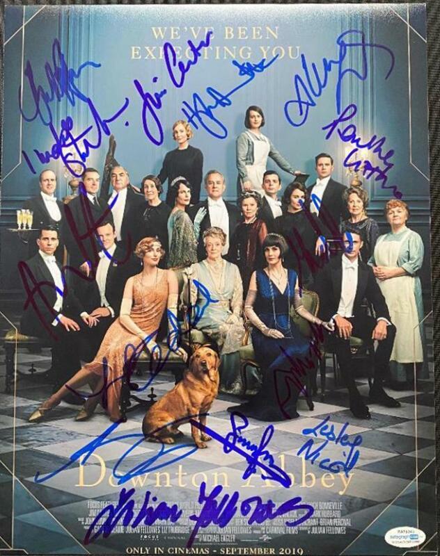 """""""Downton Abbey"""" Cast AUTOGRAPHS Signed 11x14 Photo - Dockery, Bonneville +12"""