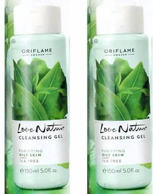 Best Oriflame Face Wash (150 ML) Love nature cleansing Gel with free