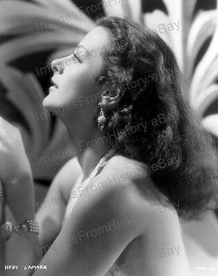 8x10 Print Hedy Lamarr Beautiful Porfile Portrait #HLS9
