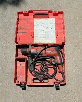 Hilti Te 2-s Rotary Hammer Drill With Case - Works Great