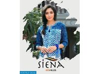 100 MILES SIENA WHOLESALE READY MADE LONG KURTIS