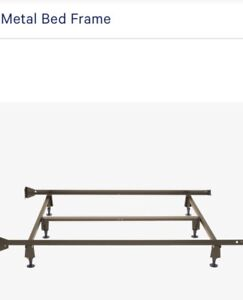 Metal bed frame. Brand new in original packing.