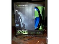 Canleen CT-820 Head-mounted gaming office music voice luminous headset with microphone turtle beach