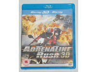 DVD 3D FILM MOVIE BLURAY ADRENALINE RUSH 3D BLU-RAY FAST WHEELS FURIOUS STUNTS.*